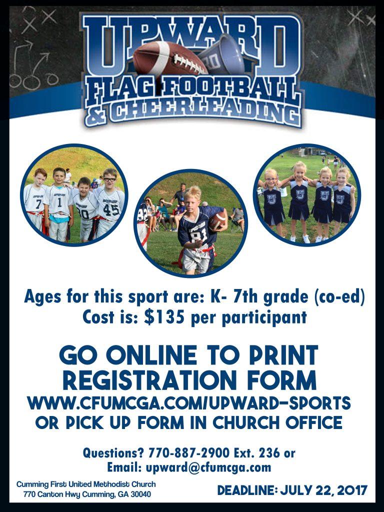 Flag Football 2017 Poster