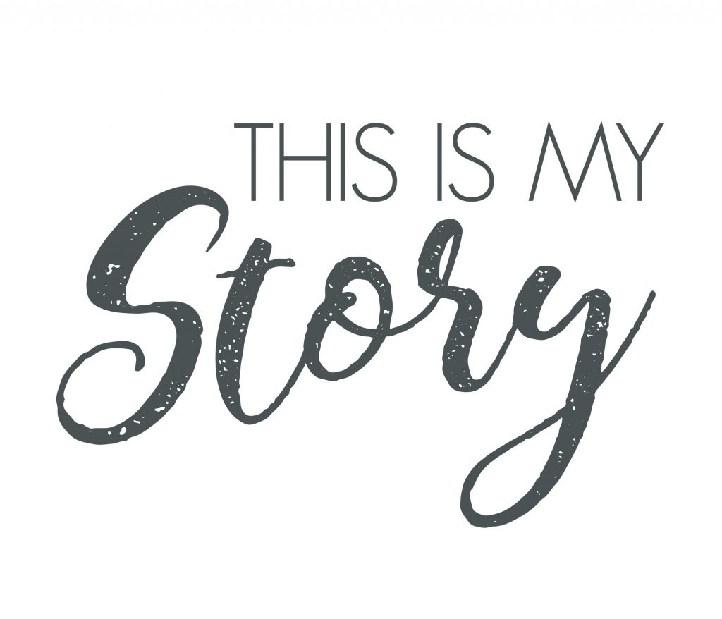 This is my story logo