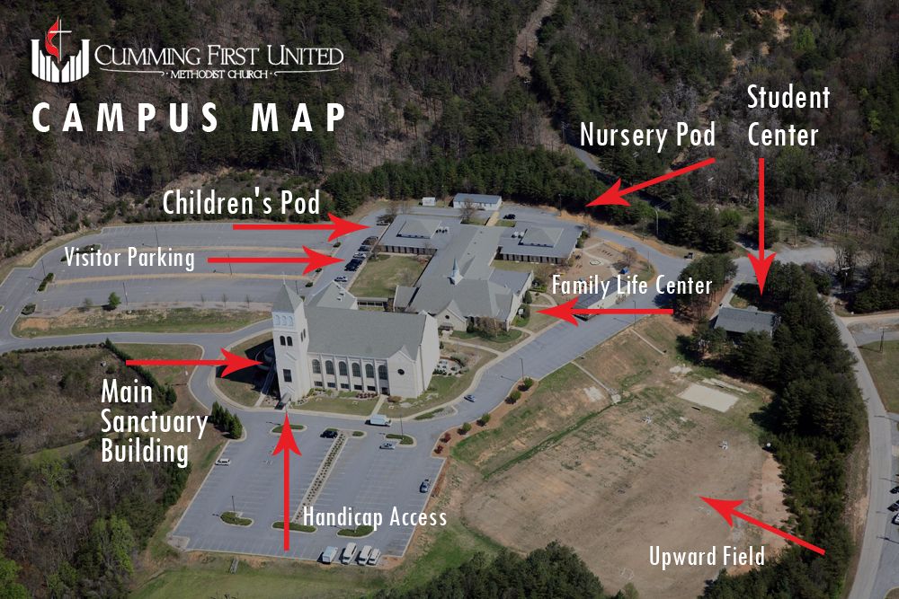 Cumming Campus Map 2016