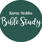 Buttons_karenBible Study